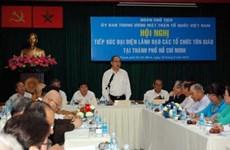 VFF leader solicits feedback on belief, religion bill
