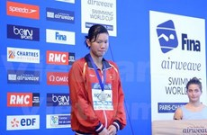 Swimming: Vien wins 400m individual medley world bronze