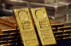 Gold, USD prices spike