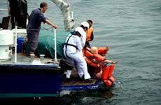 Singapore holds drill on emergency rescue at sea