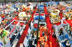 Vietfish 2015 opens in Ho Chi Minh City