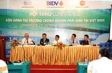 Vietnam's derivative market to open in 2016