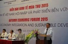 Economic forum reflects on Vietnam's international integration