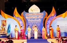 Thailand's airport holds silk celebration