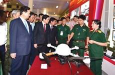 Exhibition features Vietnam's 70-year achievements