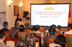 Diplomatic sector's birthday marked abroad