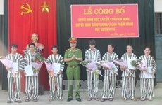 851 prisoners in Binh Thuan released ahead of national day