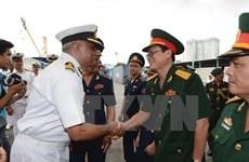 Vietnam, India Coast Guards hold rescue drill at sea