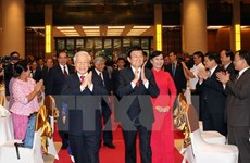 Leaders hold National Day banquet