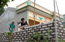 Impoverished rural families access loans for housing