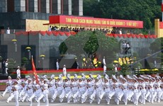 Grand meeting, parade marks 70 years of independence