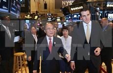 Top legislator visits New York Stock Exchange