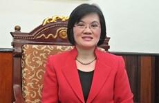 Deputy PM Minh's spouse receives ambassadors' to China