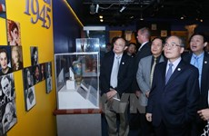 NA Chairman visits museums, first US President's hometown