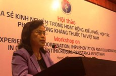 Antimicrobial resistance practices shared in Vietnam