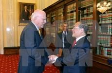 NA Chairman meets with US Senators Patrick Leahy, John McCain