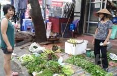 Markets receiving goods despite floods