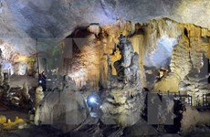 Magnificent Phong Nha-Ke Bang Park shines light at cave festival