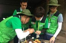 RoK volunteers join charitable activities in Quang Tri