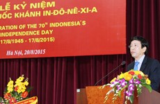 Indonesian Independence Day celebrated in Hanoi