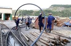 Quang Ninh: Efforts continue to rescue coal mining accident victim