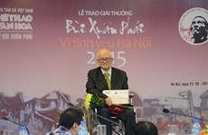 Researcher spends all life to study Hanoi