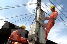 Kien Giang: Power supply project for island commune begins