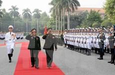 Vietnam, Laos enhance military cooperation