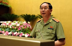 Vietnamese, Chinese security ministers hold talks