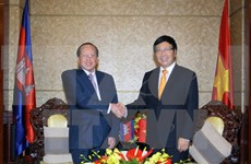 Vietnam, Cambodia foster comprehensive cooperation ties