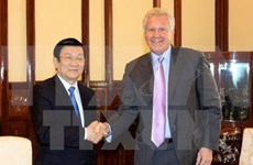 State President welcomes GE Chairman