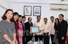 Vietnam, Laos boost press cooperation