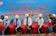 Hanoi upgrades Bac Thang Long-Van Tri water plant