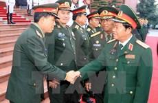 Military officials visit Cuba