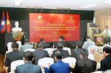 Vietnam, Laos foster human training cooperation