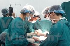 Children in Hoa Binh receive free heart examinations