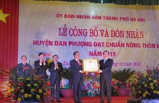 Hanoi recognises first new rural district