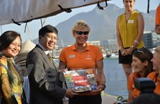 Da Nang yacht welcomed by ambassador in Cape Town