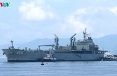 Australian naval ship visits Da Nang