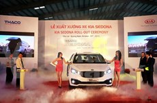 Thaco launches made-in-Vietnam Kia Sedona
