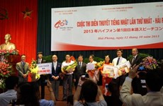 Japanese eloquence contest held in Hai Phong