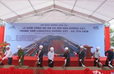 Work starts on Yen Vien railway logistics centre