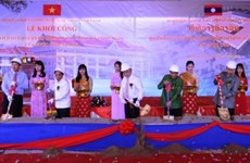 Work starts on training centre for Lao science officials