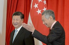Singapore, China vow to promote bilateral ties
