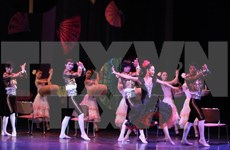Vietnam, French artists stage Carmen