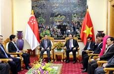 Vietnam, Singapore cement ties in crime fight, security