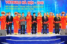 Vietbuild 2015 international exhibition opens in Hanoi