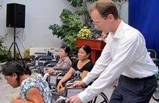 USAID steps up support for people with disabilities in Binh Phuoc