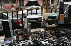 Electronic waste piling up in HCM City