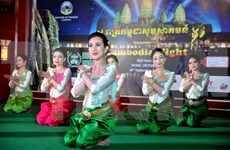 Cambodian cultural arts performance held in Soc Trang